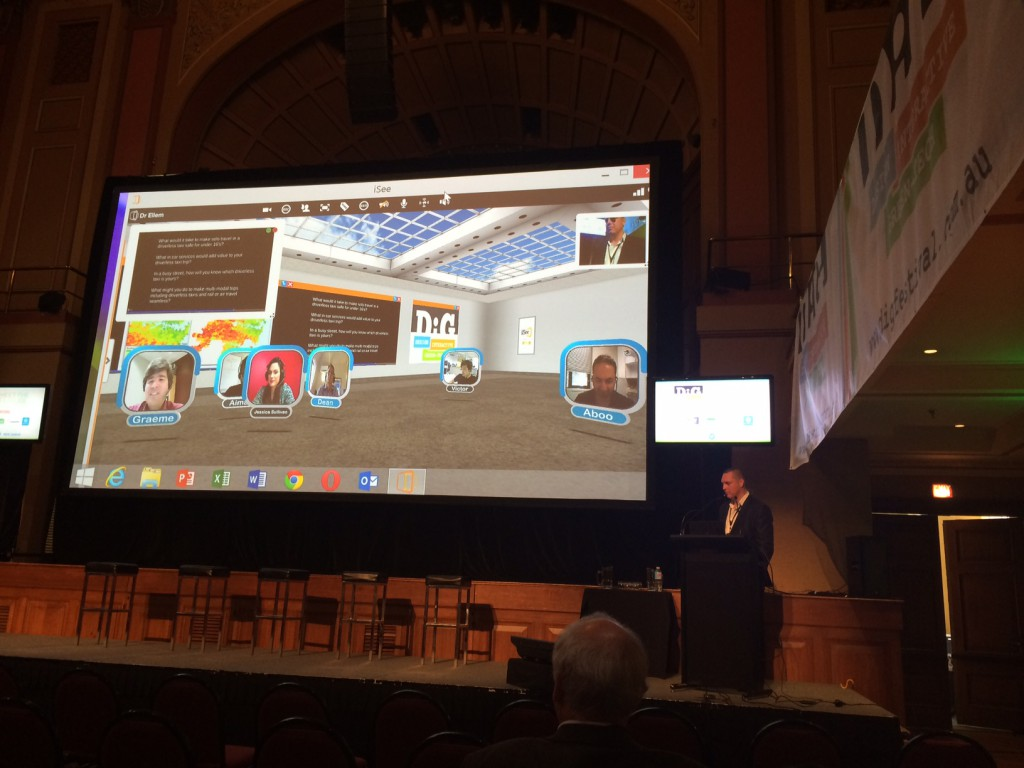 iSee Cloud technology at DIG Festival