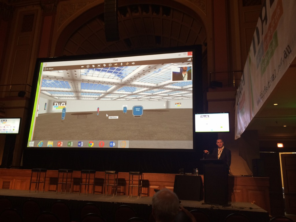 iSee Cloud enabled technology at DIG Festival
