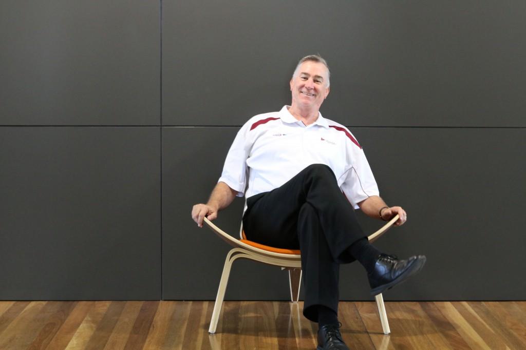 Chris on chair