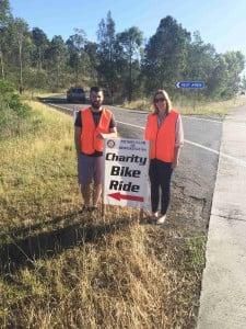 Newcastle to Dungog Charity Bike Ride