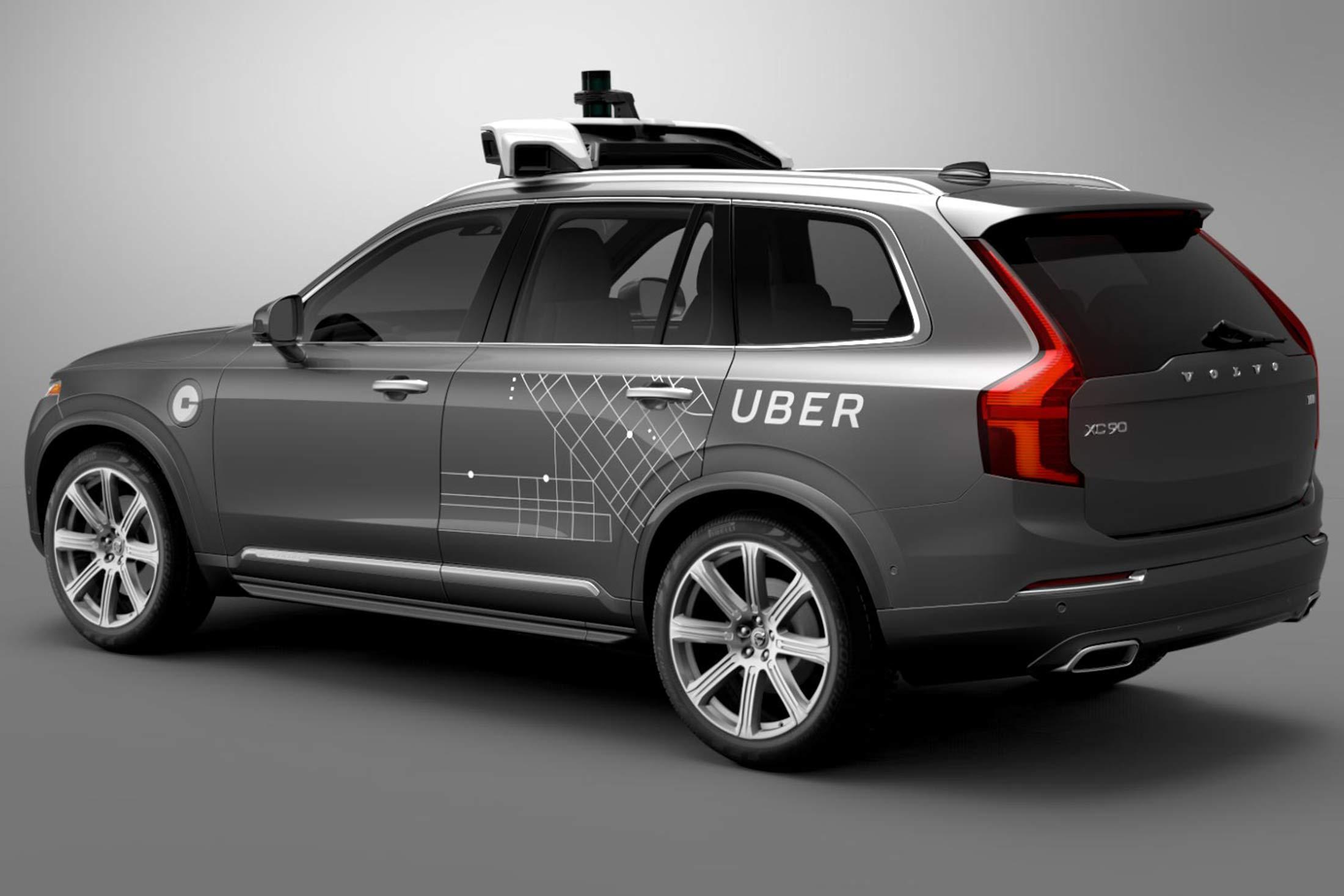 Uber's driverless Volvo