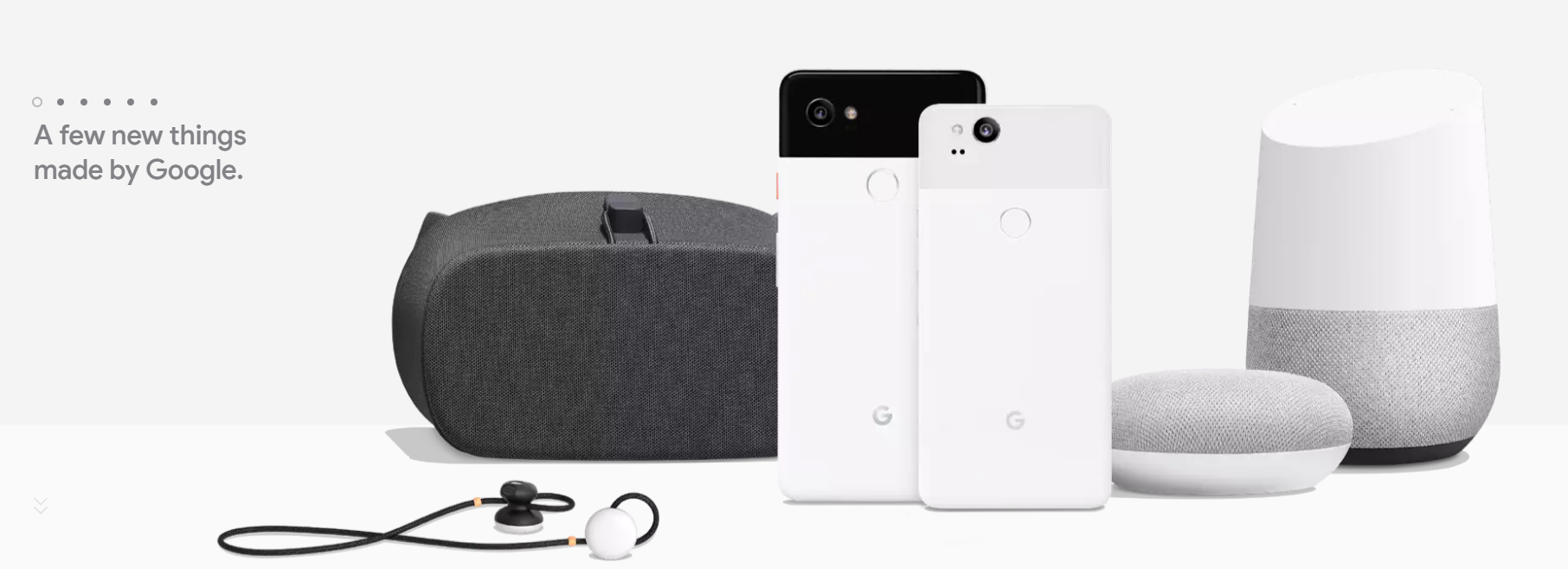 New Google products
