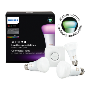 Phillips Hue White and Colour Ambiance Starter Kit