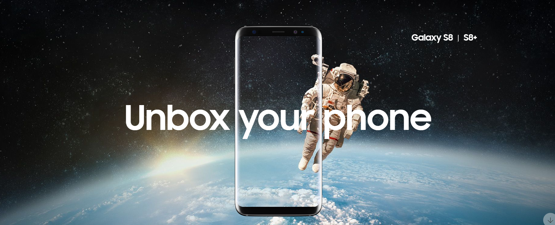 Samsung announces new Galaxy S8 and S8+