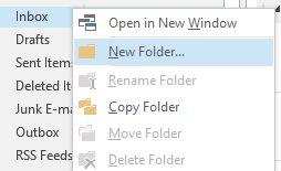 Setup a 'To Do' folder
