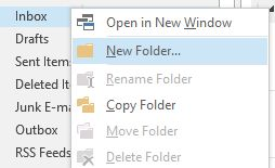 Setup a 'To Do' folder